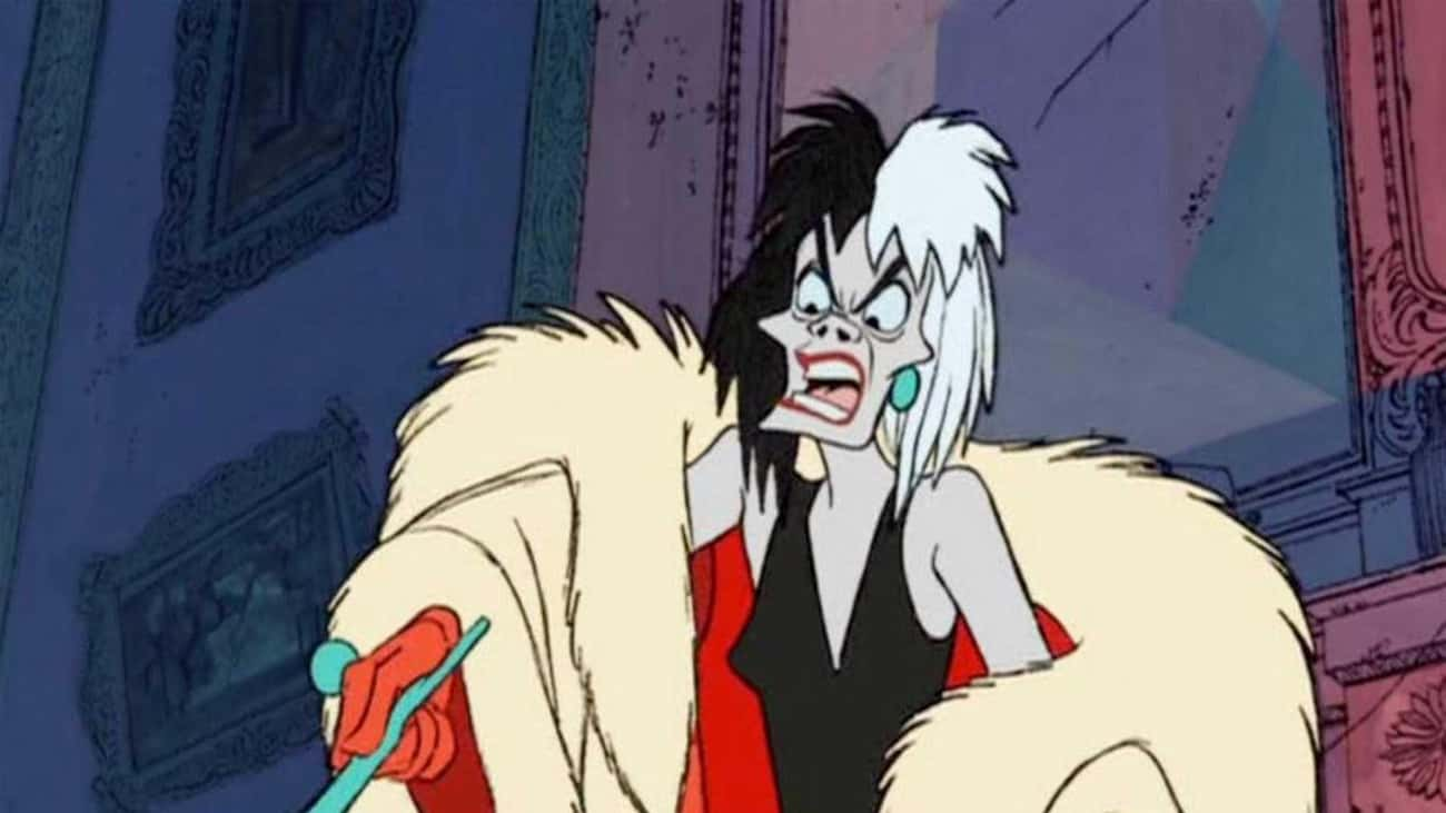 Cruella de Vil From 'One Hundred and One Dalmatians' Cannot WAIT To Skin Some Puppies