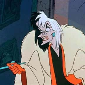 Cruella de Vil is listed (or ranked) 7 on the list The Greatest Female Villains
