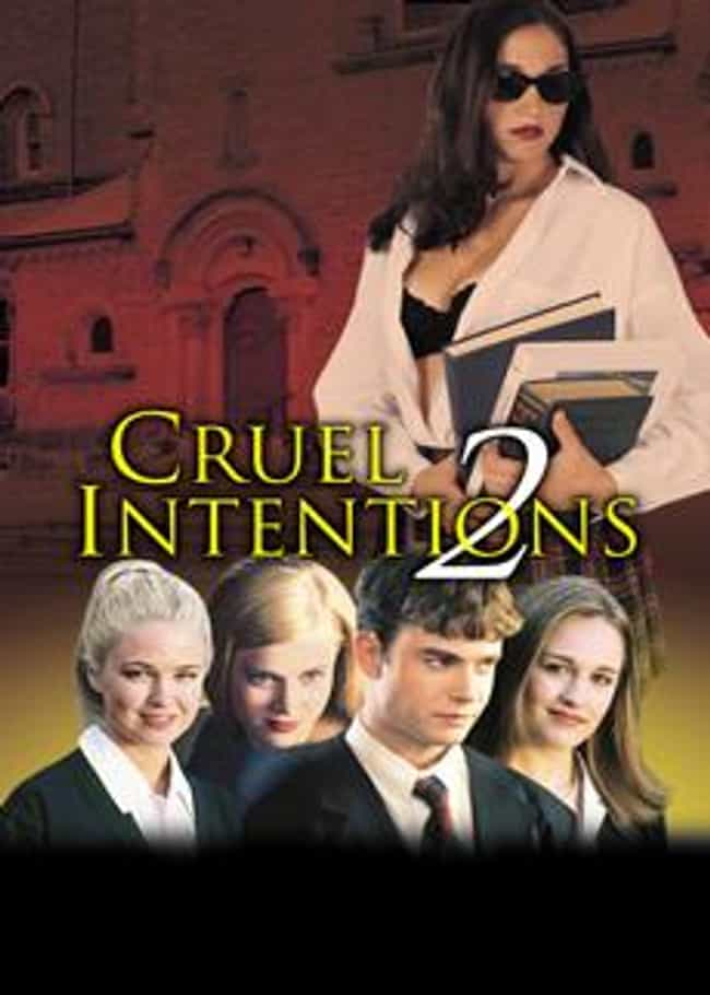 Cruel Intentions 2 is listed (or ranked) 3 on the list 14 Steamiest Incestuous Relationships In Film