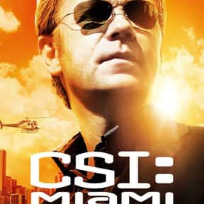 CSI: Miami is listed (or ranked) 7 on the list The Best 2000 CBS Shows