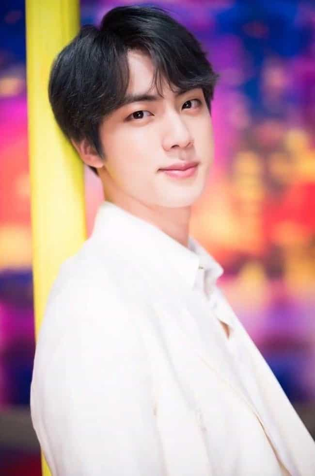 Jin is listed (or ranked) 1 on the list The Best Visuals In K-pop Right Now