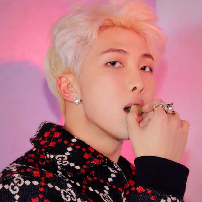 RM is listed (or ranked) 1 on the list The Best Male Leaders In K-pop Right Now