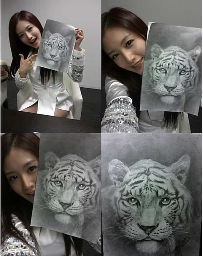 Jaekyung is listed (or ranked) 1 on the list The Best Drawings by Kpop Idols