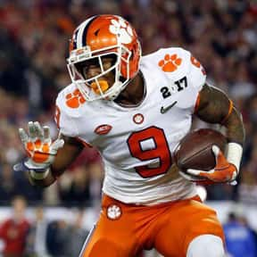 Wayne Gallman is listed (or ranked) 5 on the list The Best Clemson Tigers Running Backs of All Time
