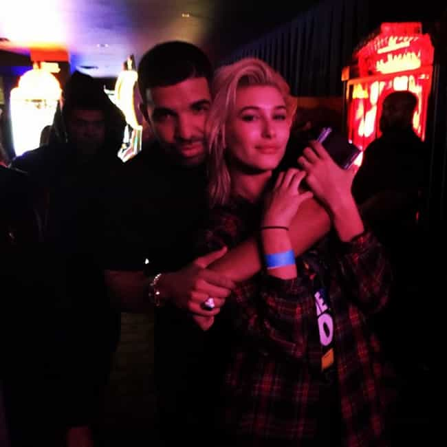 Hailey Baldwin is listed (or ranked) 4 on the list Drake Loves and Hookups