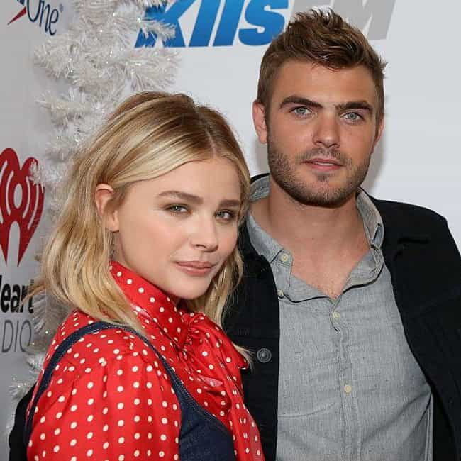 Alex Roe is listed (or ranked) 3 on the list Chloë Grace Moretz Loves And Hookups