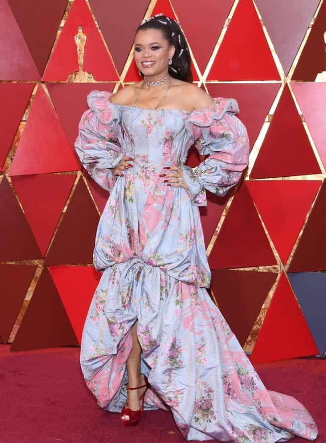 Andra Day is listed (or ranked) 3 on the list Worst Dressed At The 2018 Academy Awards