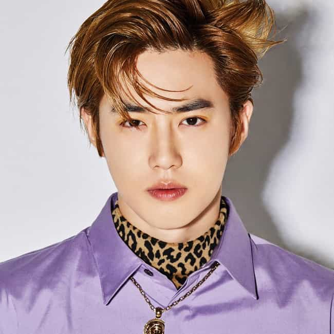 Suho is listed (or ranked) 3 on the list The Best Male Leaders In K-pop Right Now
