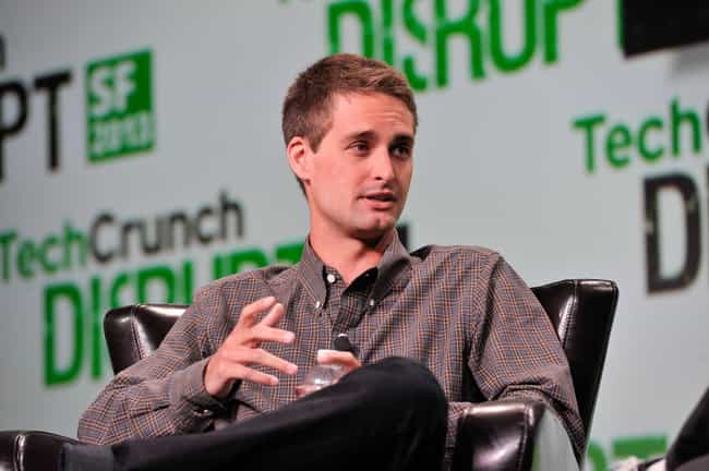 Evan Spiegel is listed (or ranked) 3 on the list Taylor Swift's Loves & Hookups