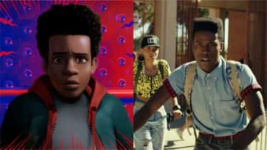 Shameik Moore (Miles Morales)  is listed (or ranked) 1 on the list Here's Where You've Heard Everyone In 'Into The Spider-Verse' Before