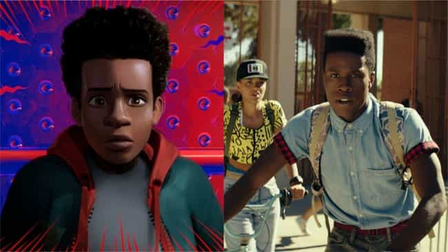 Shameik Moore is listed (or ranked) 1 on the list Here's Where You've Heard Everyone In 'Into The Spider-Verse' Before