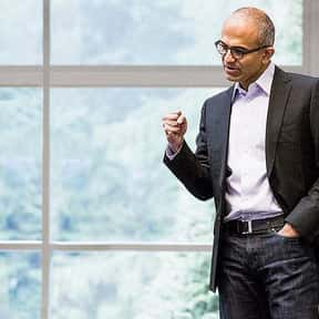 Satya Nadella is listed (or ranked) 20 on the list The Most Irreplaceable CEOs in the World