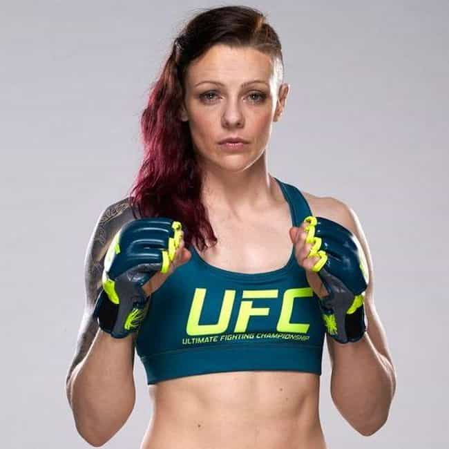 Joanne Calderwood is listed (or ranked) 2 on the list The Best UFC Fighters From England