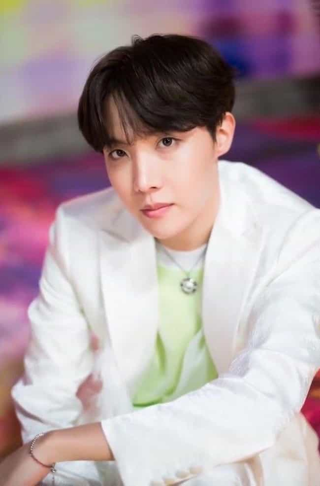 J-Hope is listed (or ranked) 2 on the list The Best Male Rappers In K-pop Right Now