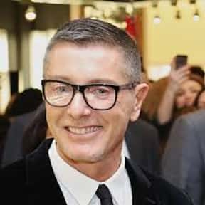 Stefano Gabbana is listed (or ranked) 14 on the list The Most Influential People in Fashion