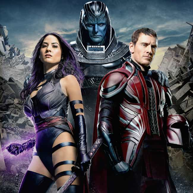 X-Men: Apocalypse is listed (or ranked) 2 on the list The Best Sophie Turner Movies