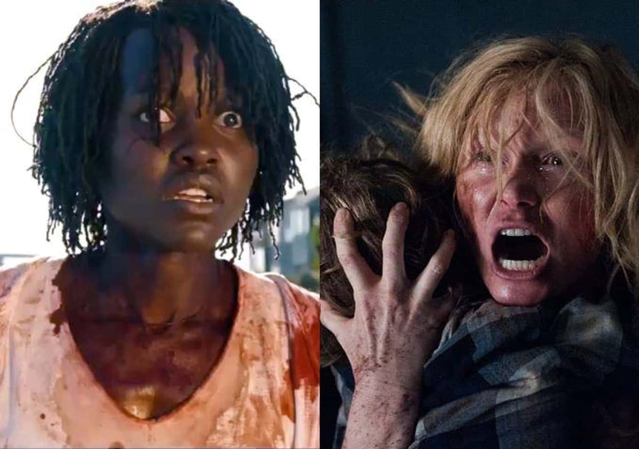 The Babadook is listed (or ranked) 4 on the list All The Horror Inspirations And Easter Eggs Hidden Throughout 'Us'