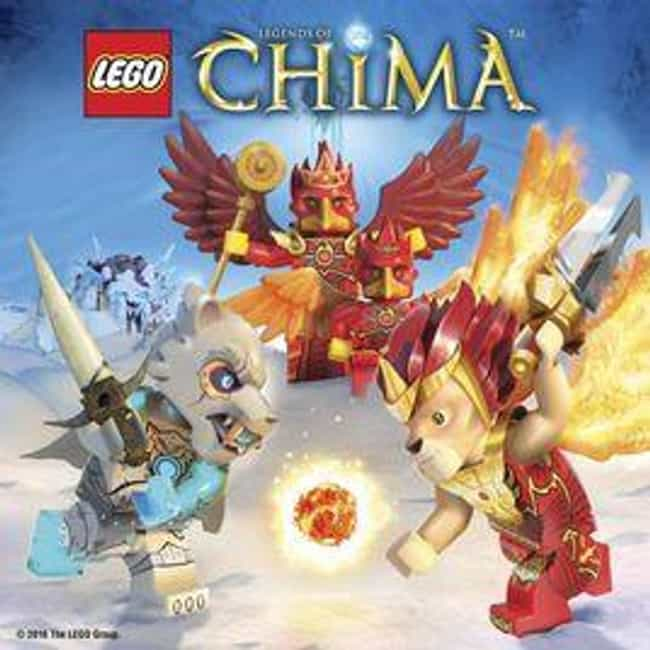 Legends of Chima is listed (or ranked) 2 on the list The Best LEGO TV Shows Ever Made