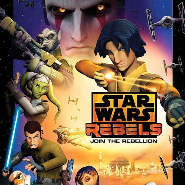 Star Wars Rebels is listed (or ranked) 3 on the list Every 'Star Wars' TV Series, Ranked