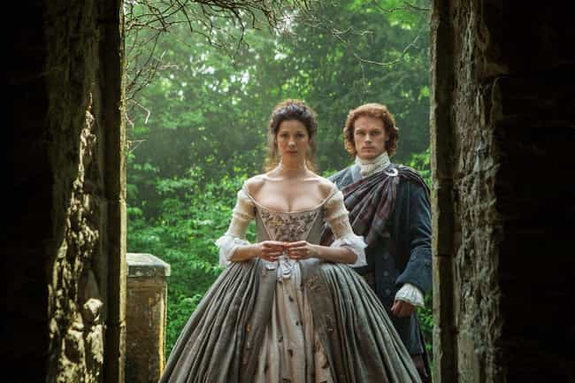 Outlander is listed (or ranked) 3 on the list The Best Wedding Dresses Ever From TV Historical Dramas