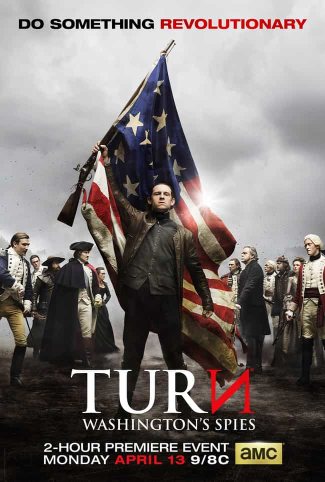 Turn: Washington's Spies is listed (or ranked) 3 on the list The Best 2010s Military TV Shows