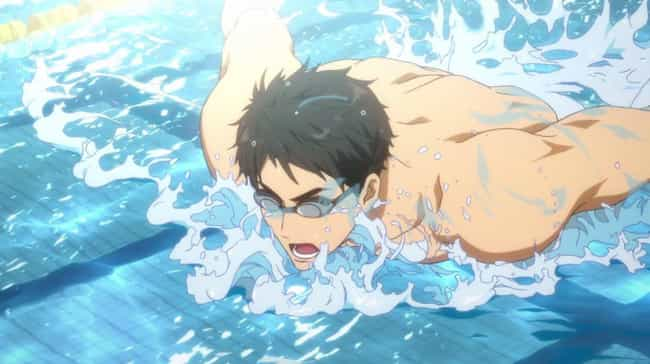 Free! - Iwatobi Swim Club is listed (or ranked) 2 on the list Anime With The Most Beautiful Water Animation