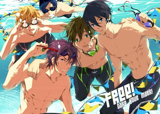 Free! - Iwatobi Swim Clu... is listed (or ranked) 3 on the list Completely Normal Anime About Everyday Life