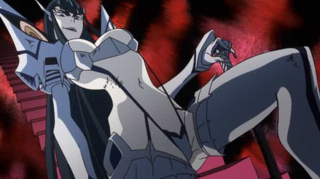 Kill la Kill is listed (or ranked) 4 on the list The 15 Greatest Guilty Pleasure Anime You Secretly Love