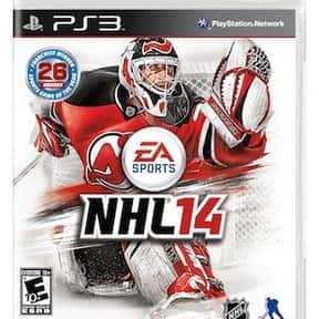 NHL 14 is listed (or ranked) 1 on the list The Best NHL Games