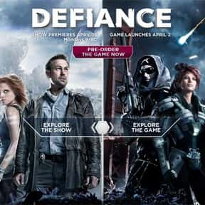 Defiance is listed (or ranked) 18 on the list The Most Popular MMORPG Video Games Right Now