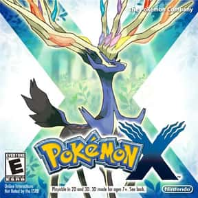 Pokémon X and Y is listed (or ranked) 6 on the list The Best Nintendo 3DS Games of All Time, Ranked by Fans