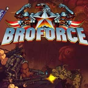 Broforce is listed (or ranked) 13 on the list The Best Co-op Games For Nintendo Switch