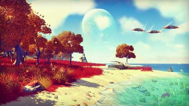 No Man's Sky is listed (or ranked) 1 on the list The Most Underwhelming Video Games of 2016