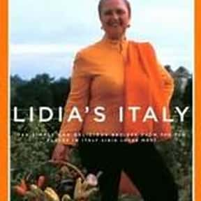 Lidia's Italy: 140 Simple and  is listed (or ranked) 17 on the list The Most Must-Have Cookbooks
