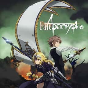 Fate/Apocrypha is listed (or ranked) 18 on the list The Best Action Anime On Netflix