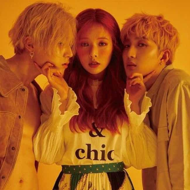 Triple H is listed (or ranked) 2 on the list The Best K-pop Coed Groups Of All-Time