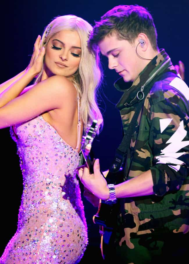 Bebe Rexha is listed (or ranked) 2 on the list Martin Garrix Loves and Hookups