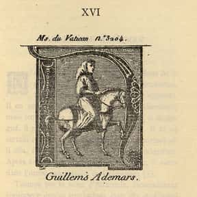Guilhem Ademar is listed (or ranked) 19 on the list The Best Medieval Composers, Ranked