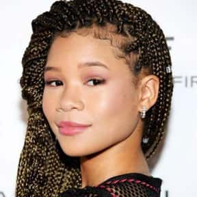 Storm Reid is listed (or ranked) 18 on the list Famous Cancer Female Celebrities