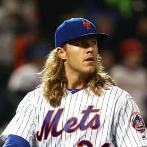 Noah Syndergaard is listed (or ranked) 3 on the list The Best Hitting Pitchers in the MLB Right Now