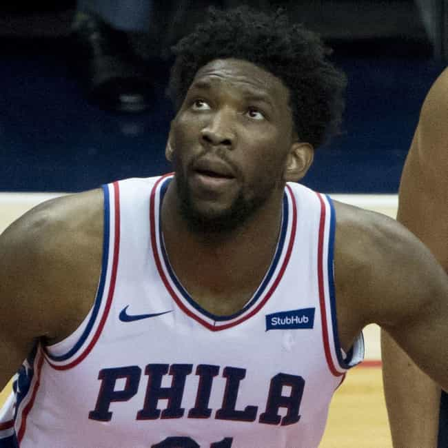 Joel Embiid is listed (or ranked) 4 on the list The Biggest Floppers in NBA Today
