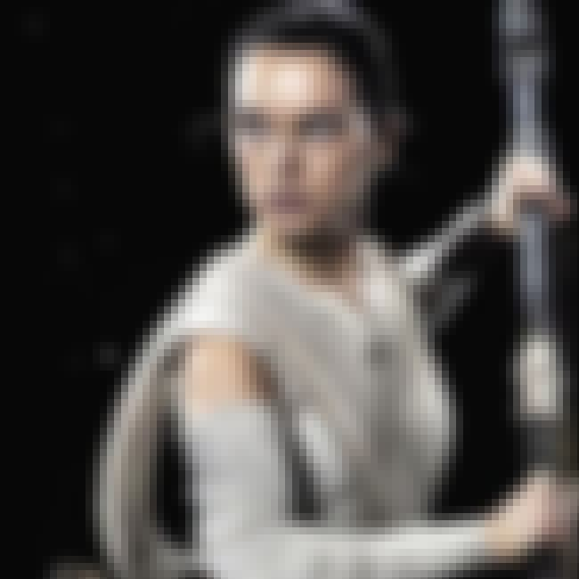 Rey is listed (or ranked) 4 on the list The Many Jedi Who Were Trained by Luke Skywalker
