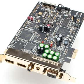 Auzentech is listed (or ranked) 11 on the list The Best Sound Card Manufacturers