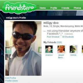 Friendster is listed (or ranked) 8 on the list Dead Social Media Platforms You Wish Were Still Around