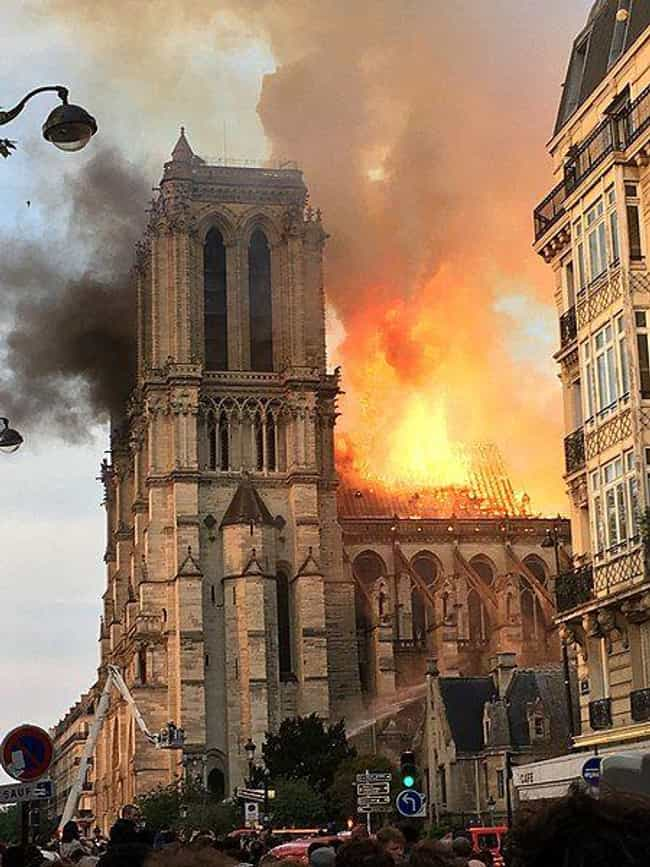 Notre Dame Cathedral is listed (or ranked) 1 on the list Things That Were A Thing: April 2019 Edition