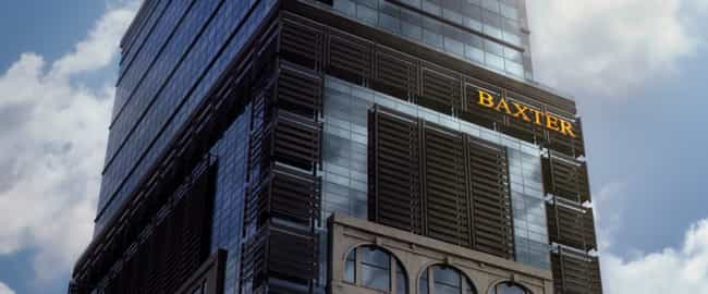 Baxter Building is listed (or ranked) 3 on the list Superhero Lairs