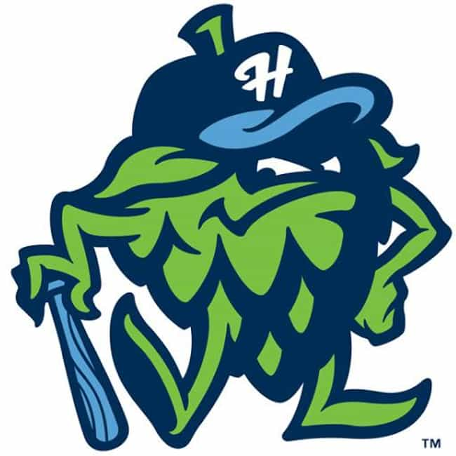 The best minor league baseball team logos hillsboro hops sciox Image collections