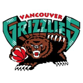 Vancouver Grizzlies is listed (or ranked) 8 on the list The Coolest Basketball Team Logos