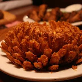 Blooming Onion is listed (or ranked) 24 on the list The Most Delicious Bar & Pub Foods, Ranked