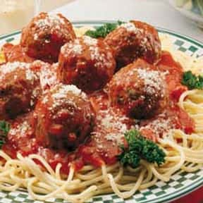 Spaghetti & Meatballs is listed (or ranked) 25 on the list The Most Comforting Comfort Food